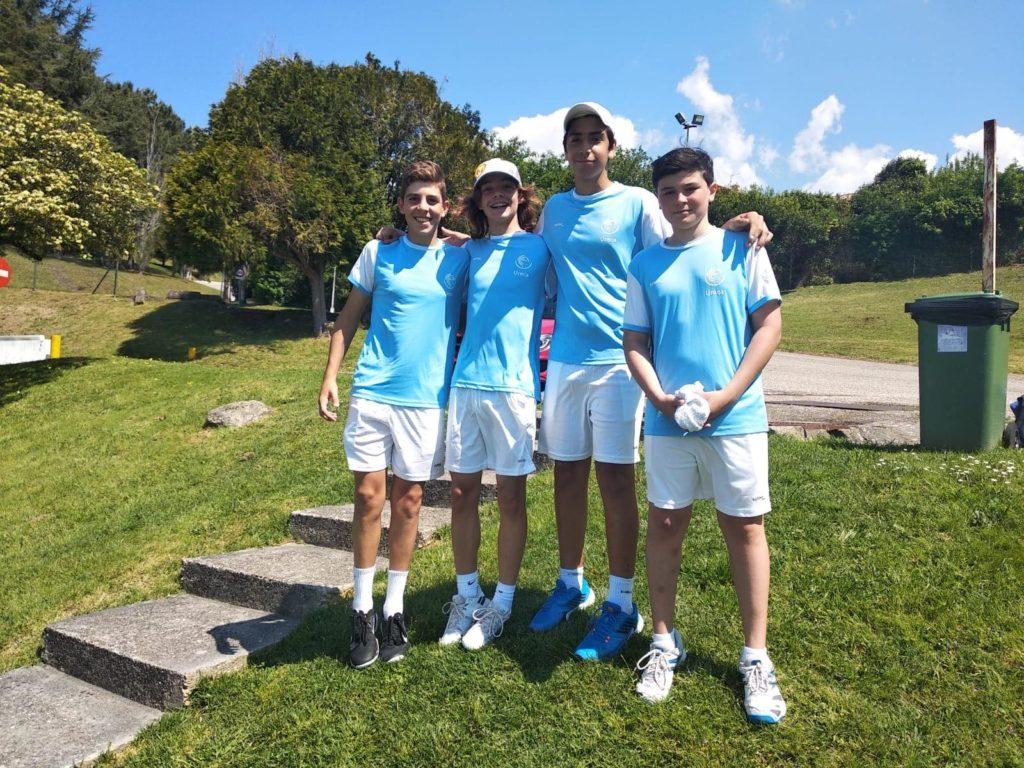 tenis masculino ureca sub 14