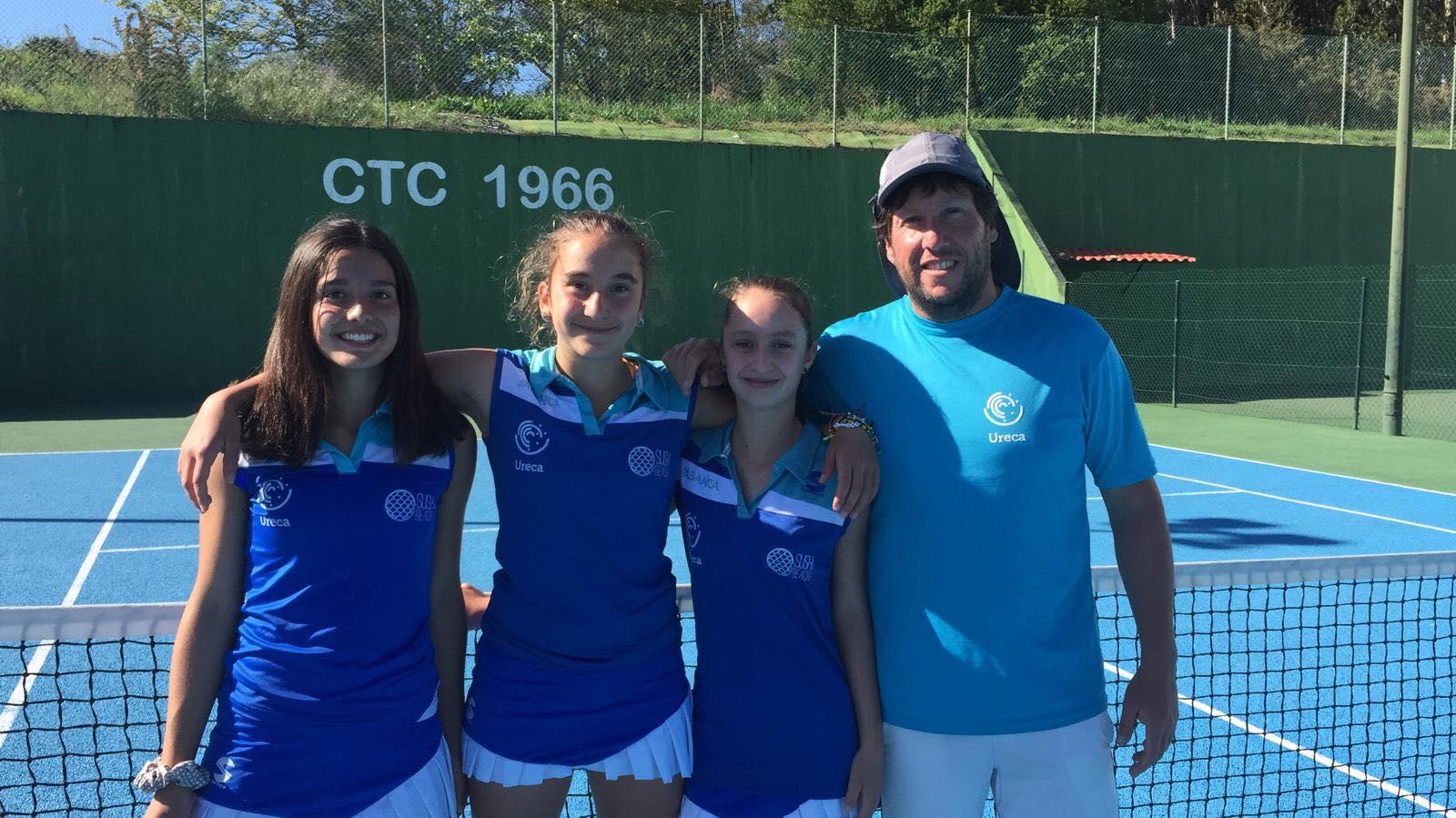 ureca femenino tenis campeonas campeonato gallego sub 14